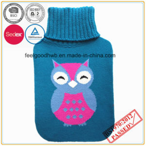 Lovely Owl Knitted Hot Water Bottle pictures & photos