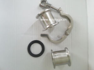 Sanitary Clamp Union Set (Clamp+Female Ferrule+Gasket) pictures & photos