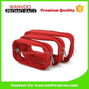 Special Sell Clear Cosmetic Bag Plastic Waterproof pictures & photos