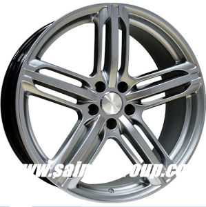 F664509 20 Inch Hyper Silver Replica Alloy Rims for Audi pictures & photos