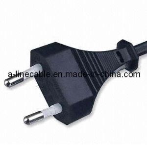 250V 2.5A VDE European 2-Pin Power Cord pictures & photos
