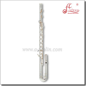 Professional 14 Keys Silver Plated Bass Flute pictures & photos