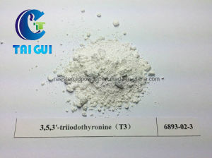 T3 Liothyronine Sodium CAS 55-06-1 Organic Fat Loss Steroids Powder for Weight Loss pictures & photos