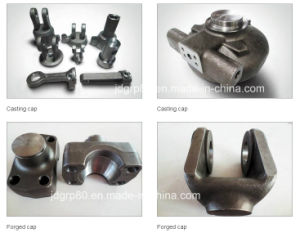 Casting, Forging, Machining Parts of Hydraulic Cylinder pictures & photos