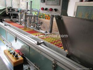 Tam-Zl Automatic Flat Round Candle Pen Screen Printing Machine pictures & photos