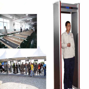 Indoor use Walk Through Metal Detector AT-IIID Archway metal detctor pictures & photos