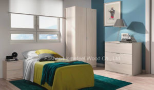 Simple Cheap Oak Bedroom Wardrobe Set Furniture (HF-EY0012) pictures & photos