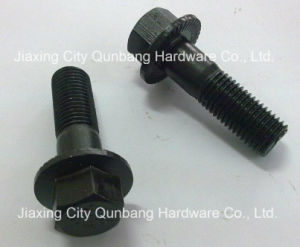 DIN6921 Hex Bolts with Flange M5-M20 Black pictures & photos