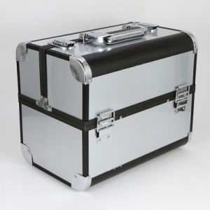 The 2015 New Collection Aluminum Cosmetic Case (hx-q076) pictures & photos