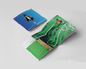 Saddle Stitch Catalogue Printing Service (jhy-207) pictures & photos