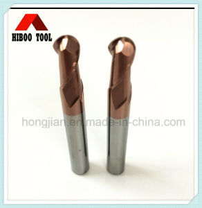 Good Quality HRC45 Carbide Ball Nose Metal Cutting Tool pictures & photos