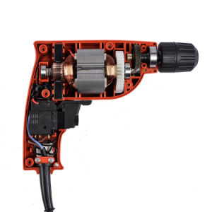 Industrial 350W 10mm Portable Promotional Electric Hand Drill 9222u Power Tools pictures & photos