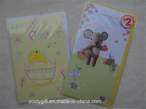 Customized Printing Greeting Card and Envelop for Happy Easter pictures & photos