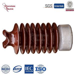 Top Station Porcelain Insulator ANSI 57-2 for Hv