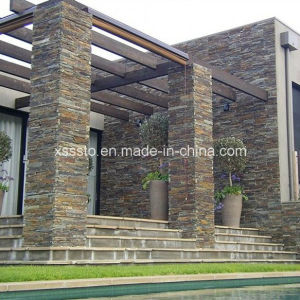 New Type Cheap Natural Thin Stone Slate for Wall Cladding pictures & photos