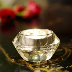 Elegant Round K9 Crystal Candleholder for Home Decoration pictures & photos