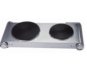 High Quality Kitchen Portable Double Electric Solid Hot Plate pictures & photos