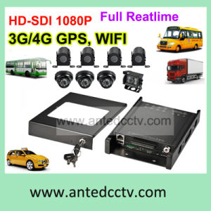4/8 Camera Vehicle Surveillance System with GPS Tracking 3G WiFi pictures & photos