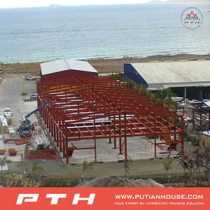 Sandwich Panel Wall Cladding Steel Structure Warehouse pictures & photos