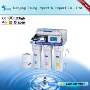 5 Stage of 50gpd RO Water Purification with Digital Display pictures & photos