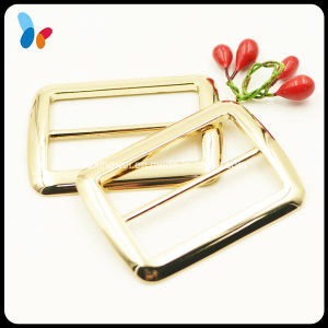 Square Metal Zinc Alloy Ring Adjustable Buckle for Bag pictures & photos