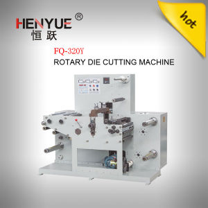 320mm Width Rotary Blank Label Die Cutting Machine and Slitting Machine