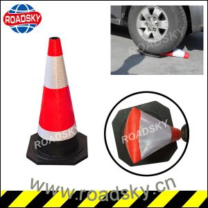 Cheap Highway Construction Rubber Cone Sign for Sale pictures & photos