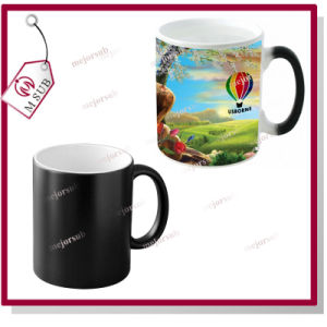 11oz Sublimation Custom Black Color Changing Mug pictures & photos