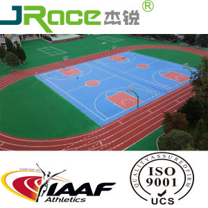 Polyurethane Synthetic Athletic Running Track 400m 8lanes pictures & photos