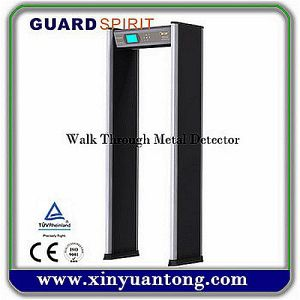 Waterproof Multi-Zone Archway Metal Detector Gate for Airport, Government, Exhibition Center pictures & photos