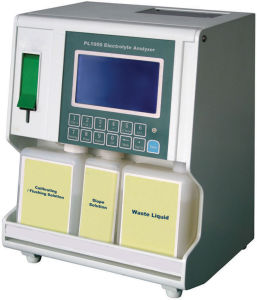 Pl1000A Medical Blood Electrolyte Analyzer with LCD Display pictures & photos