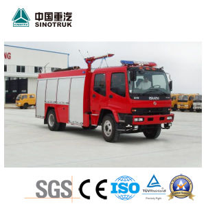 Very Cheap Isuzu Chassis Water Fire Truck with 8000L pictures & photos