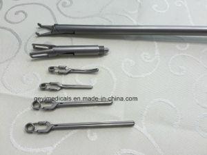 Laparoscopic Surgical Instruments Bulldog Endo-Vessel Clip Applier Forceps pictures & photos