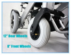 Tiny 4L Foldable and Portable Power Wheelchair pictures & photos