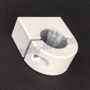 Aluminum Extrusion CNC Machining Aluminum Clamp with Powder Coated White pictures & photos