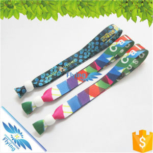 Sublimation Wristbands Bead Festival Print Bracelets Clasp for Events