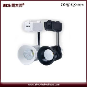 High Quality 15W COB Lamp Beads LED Track Light Black and White