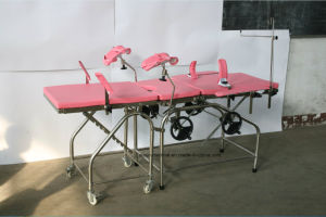 Ordinary Obstetric Table for Gynecological Operations, CE ISO9001 Marked, Cheap pictures & photos