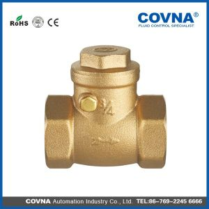 "1"" Covna Brass Swing Check Valve for Water pictures & photos"