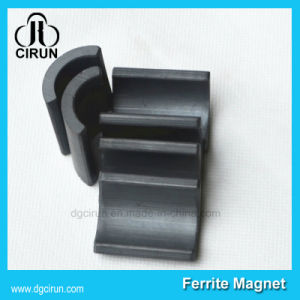 China Ferrite Arc Magnet for Motor pictures & photos