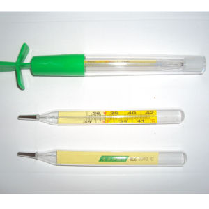 Non-Mercury Glass Thermometer with CE (WPGT) pictures & photos