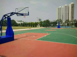 PU High Cushion Outdoor Basketball Court Coating pictures & photos