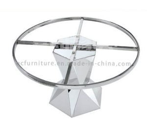 Modern Dining Table with Marble Top Steel Leg pictures & photos