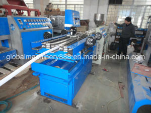 Single Wall Plastic Corrugated Pipe Production Line