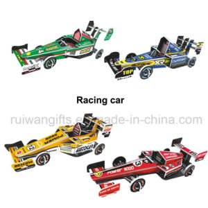 Wholesale Racing Car 3D Paper Puzzle for Kids Intelligent Toy pictures & photos