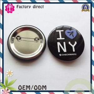 I Love New York Customer Design Pin Bottm Badge pictures & photos