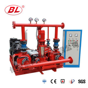 Water Supply Equipment Fire Fighting Dual-Power Diesel Pump pictures & photos