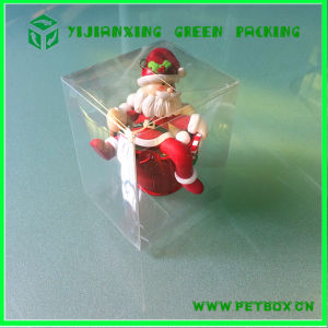 Embossing Plastic Clear Pet Flat Box Folding