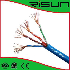 Cat5e UTP Stranded Cable 7/0.16cu with PVC Use for Patch Cord pictures & photos