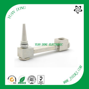 180 Degree Right Angel Adaptor 5/8 Female to Male CATV Coaxial Connector pictures & photos